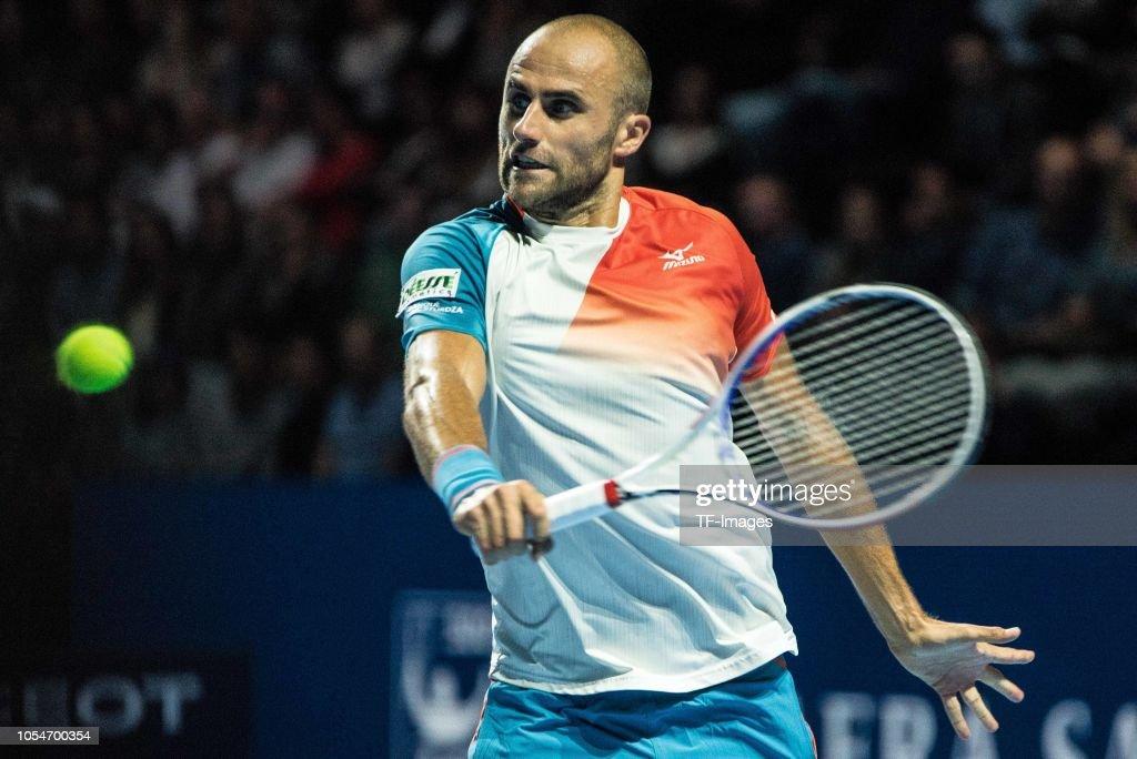 The Swiss Indoors Basel : News Photo
