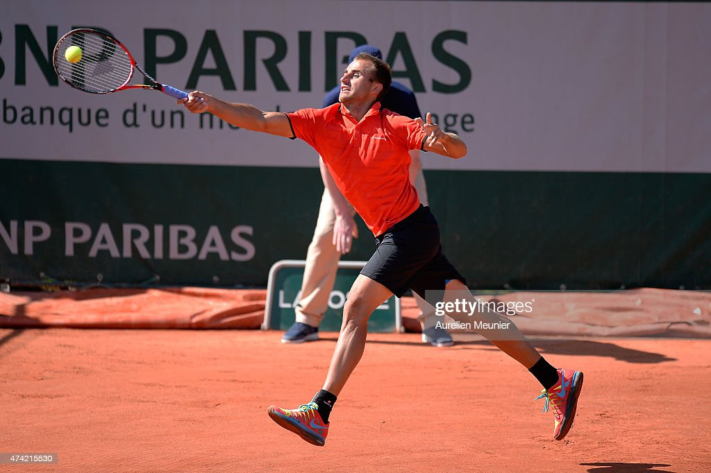 Qualifying For The French Open 2015 : Day Three : News Photo