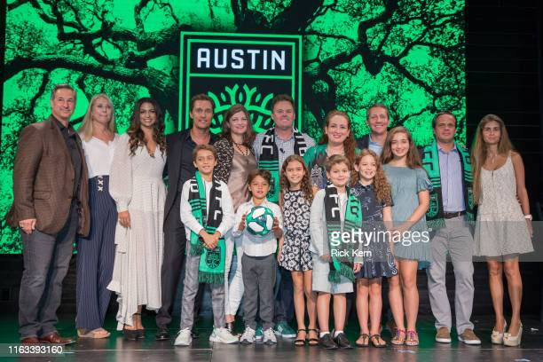 Marius Haas, President and CCO of Dell Technologies, Camila Alves, Matthew McConaughey, Academy Award-winning actor, 'Minister of Culture' / M.O.C.,...