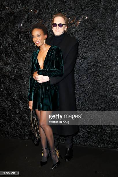 Marius MuellerWesternhagen and his partner Lindiwe Suttle attend the When the Ordinary becomes Precious #CartierParty at Old Power Station on...