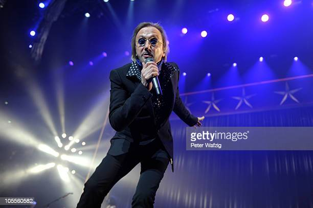 Marius MuellerWesternhagen performs on stage at the LanxessArena on October 16 2010 in Cologne Germany