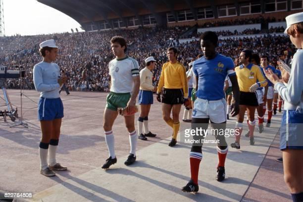 Marius TRESOR Bulgarie / France Qualification pour la Coupe du Monde 1978 Sofia Bulgarie