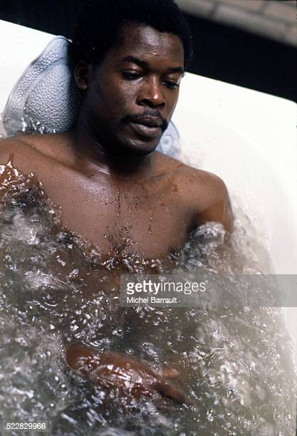 Marius Tresor of France during the stage of Team France at Le Touquet before the World Cup 1978 on 30th April 1978