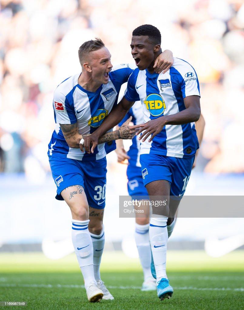 Hertha BSC v SC Paderborn - German soccer league : Nachrichtenfoto
