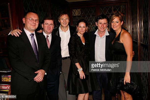 Mariusz Czerwinski Andy Breslin Liam Neeson Lauren guest Gabriel Byrne and Caroline Breslin attend IRISH ARTS CENTER'S Ninth Annual Spirit of Ireland...