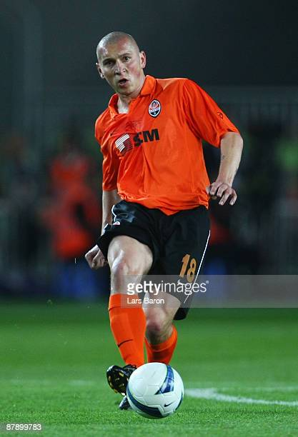 Mariusz Lewandowski of Shakhtar Donetsk in action during the UEFA Cup Final between Shakhtar Donetsk and Werder Bremen at the Sukru Saracoglu Stadium...