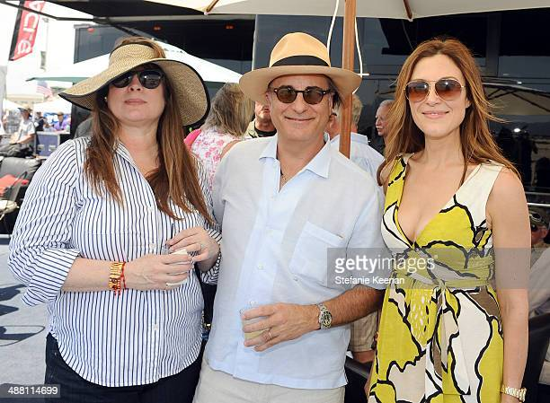 Marivi Lorido Garcia actor Andy Garcia and tv personality Thea Andrews attend The Horsemen Flight Team Event Hosted By Dan Friedkin And Lauren...