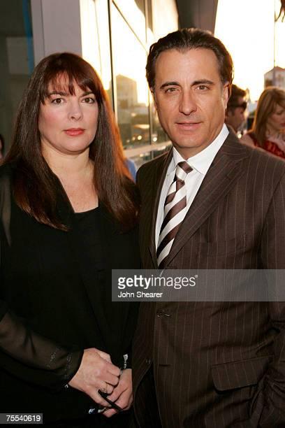 Marivi Lorido Garcia and Andy Garcia at the Cinerama Dome in Los Angeles California