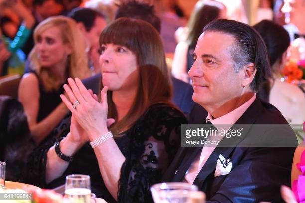 Marivi Lorido Garcia and Andy Garcia attend the Shane's Inspiration A Night In Old Havana Gala on March 4 2017 in Hollywood California