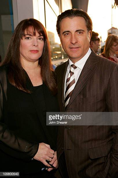 Marivi Lorido Garcia and Andy Garcia during The Lost City Los Angeles Premiere Red Carpet at Cinerama Dome in Los Angeles California United States