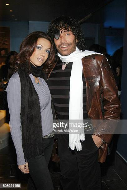 Mariya Aronova and Rodolfo Valentin attend Grand Opening of TOUCH Sponsored by BELVEDERE at Touch on November 29 2007 in New York City