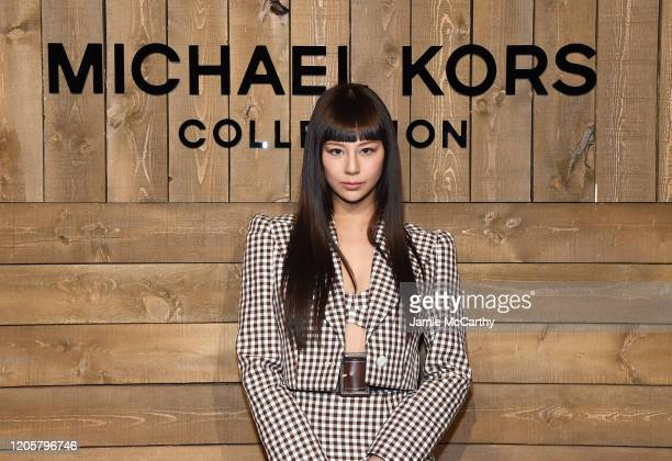 Mariya Nishiuchi attends the Michael Kors FW20 Runway Show on February 12, 2020 in New York City.