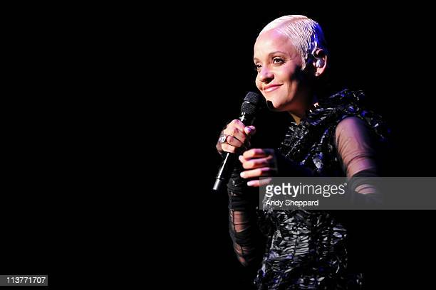 Mariza performs on stage at Queen Elizabeth Hall on May 5 2011 in London United Kingdom