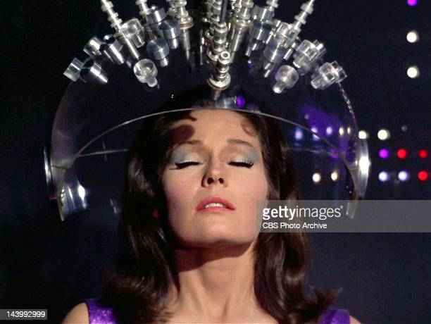 Marj Dusay as Kara in the STAR TREK episode Spock's Brain Original airdate September 20 1968 Season 3 episode 1 Image is a screen grab