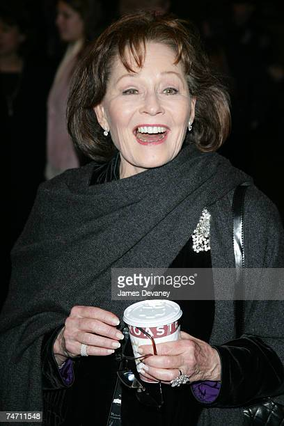 Marj Dusay at the Lyceum Theatre in New York City New York