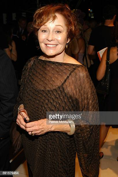 Marj Dusay attends Kelly Ripa hosts a book launch party for Finola Hughes' new book 'Soapsuds' at Montblanc at Montblanc Boutique on June 14 2005 in...