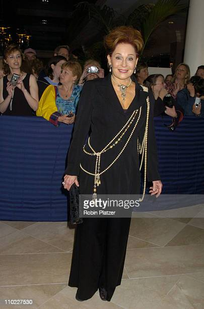 Marj Dusay during 32nd Annual Daytime Emmy Awards Outside Arrivals at Radio City Music Hall in New York City New York United States