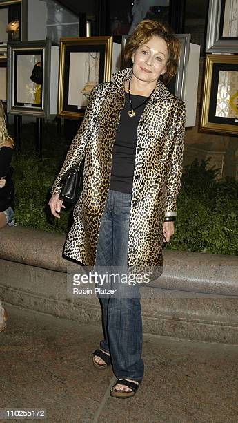 Marj Dusay during Olympus Fashion Week Spring 2006 Pamella Roland Front Row and Backstage at The Tents at Olympus Fashion Week in New York City New...