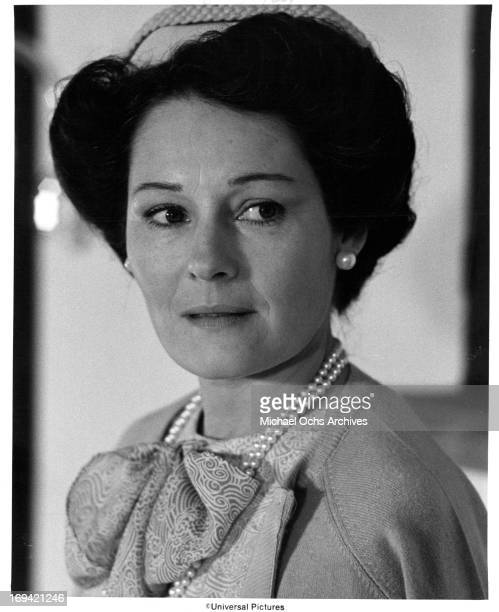 Marj Dusay in a scene from the film 'MacArthur' 1977