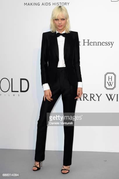 Marjan Jonkman arrives at the amfAR Gala Cannes 2017 at Hotel du Cap-Eden-Roc on May 25, 2017 in Cap d'Antibes, France.