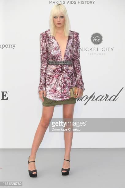 Marjan Jonkman attends the amfAR Cannes Gala 2019 at Hotel du Cap-Eden-Roc on May 23, 2019 in Cap d'Antibes, France.