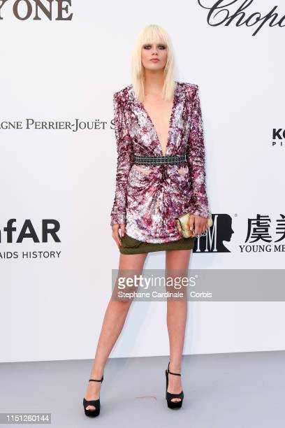 Marjan Jonkman attends the amfAR Cannes Gala 2019>> at Hotel du Cap-Eden-Roc on May 23, 2019 in Cap d'Antibes, France.