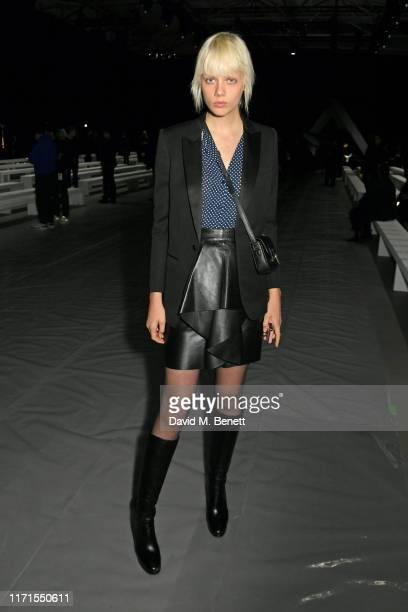 Marjan Jonkman attends the Celine Womenswear Spring/Summer 2020 show as part of Paris Fashion Week on September 27, 2019 in Paris, France.