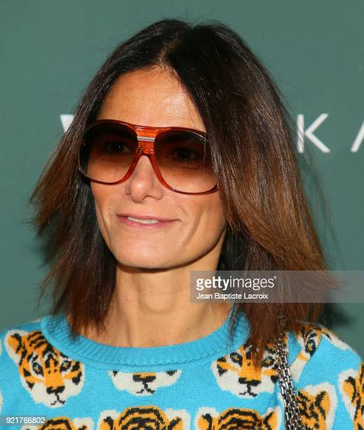 Marjan Malakpour arrives to the Council of Fashion Designers of America luncheon held at Chateau Marmont on February 20 2018 in Los Angeles California