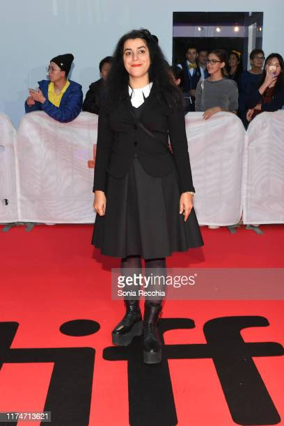 Marjane Satrapi attends the Radioactive premiere during the 2019 Toronto International Film Festival at Princess of Wales Theatre on September 14...