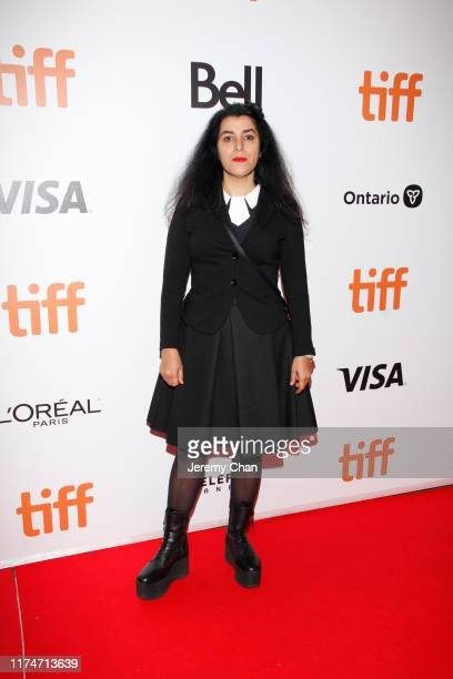 """Marjane Satrapi attends the """"Radioactive"""" premiere during the 2019 Toronto International Film Festival at Princess of Wales Theatre on September 14,..."""