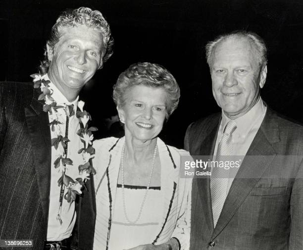 Marjoe Gortner Betty Ford and Gerald Ford at the Kauai Celebrity Sports Invitational Westin Kauai Hotel Kauai