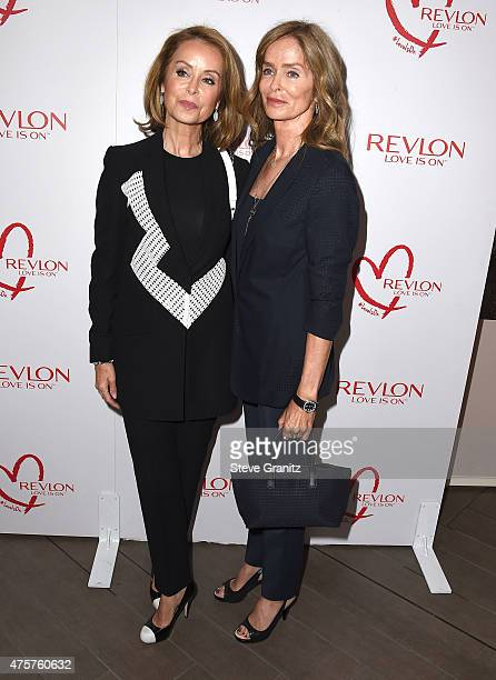 Marjorie Bach abd Barbara Bach arrives at the Revlon Global Brand Ambassador Halle Berry Celebrates Achievement In Cancer Research With StarStudded...