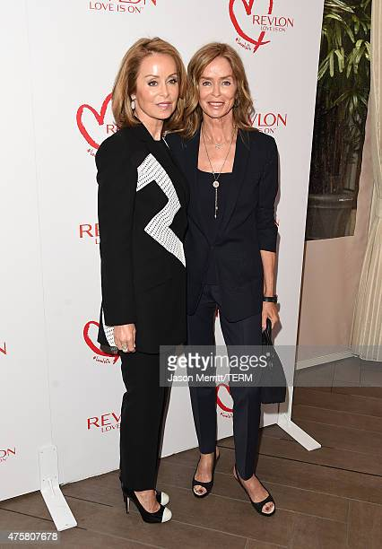Marjorie Bach and Barbara Bach attend the Halle Berry lunch celebration for Women Cancer Research at Four Seasons Hotel Los Angeles at Beverly Hills...