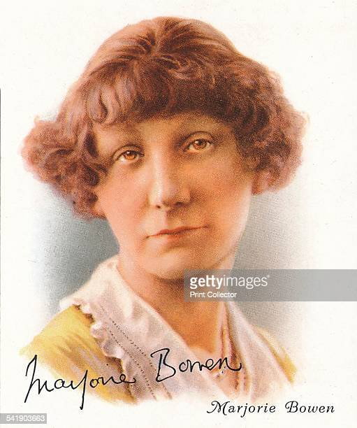 Marjorie Bowen pseudonym of Mrs Gabrielle Margaret Vere Long nee Campbell British author who wrote historical romances supernatural horror stories...