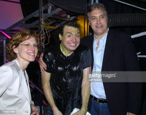 Marjorie Cohn Exec VP Nickelodeon Mike Myers President and Herb Scannell President MTV Networks
