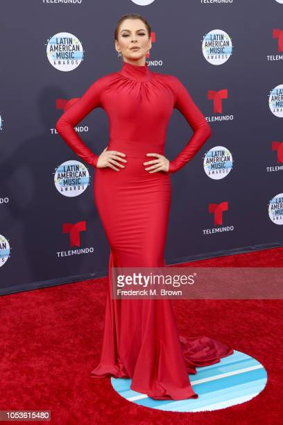 Marjorie De Sousa attends the 2018 Latin American Music Awards at Dolby Theatre on October 25 2018 in Hollywood California