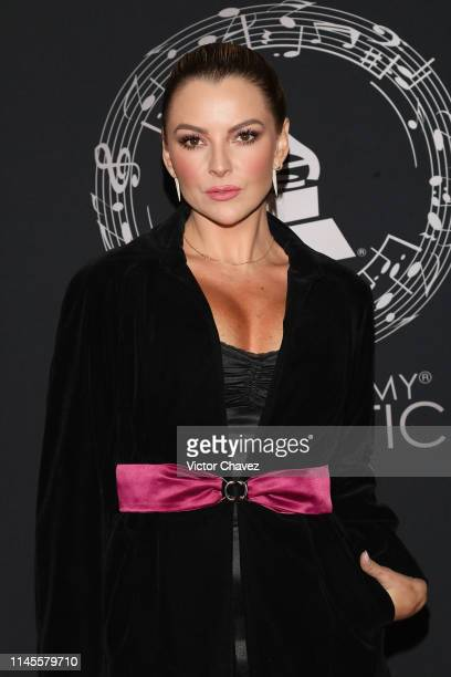 Marjorie de Sousa attends the Latin Grammy Acoustic Session Mexico at Soumaya museum on May 22 2019 in Mexico City Mexico