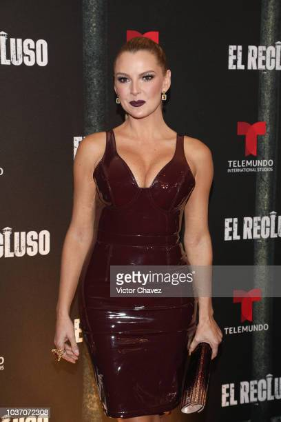 Marjorie de Sousa attends the special screening of Telemundo tv series El Recluso at Four Seasons Hotel on September 20 2018 in Mexico City Mexico
