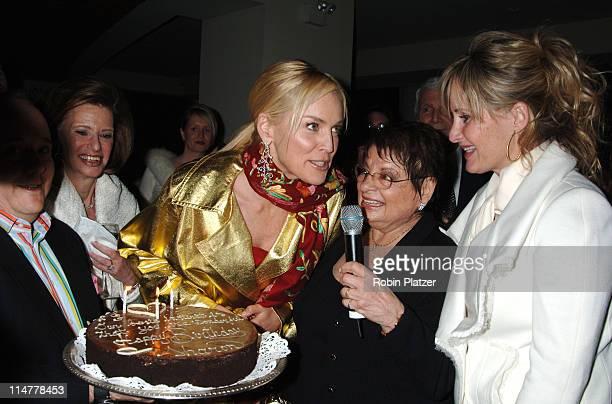 Marjorie Emden, Sharon Stone, Eileen Mitzman and Kelly Stone