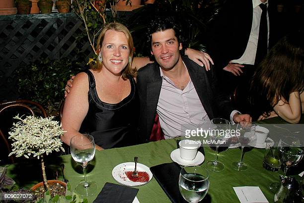 Marjorie Gubelmann Raein and Alejandro Santo Domingo attend BOB COLACELLO's Birthday Party at the Gramercy Park Hotel at Gramercy Park Hotel on May 9...