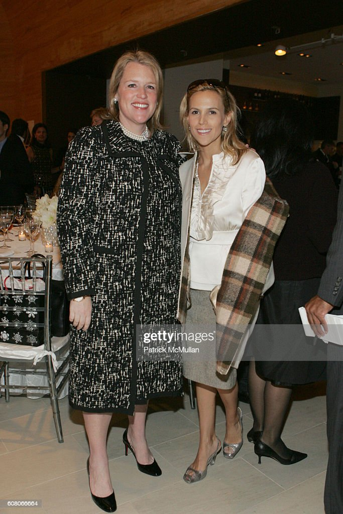 f185ea57676b Marjorie Gubelmann Raein and Tory Burch attend Saks Fifth Avenue ...