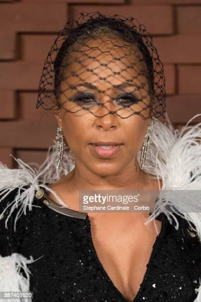 Marjorie Harvey attends the Chanel Collection Metiers d'Art Paris Hamburg 2017/18 at The Elbphilharmonie on December 6 2017 in Hamburg Germany