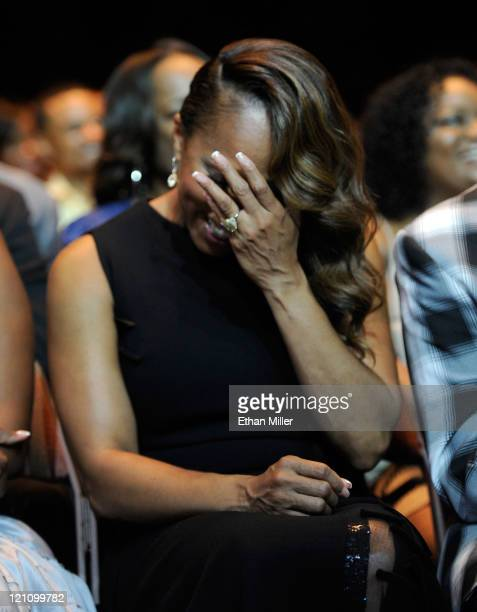 Marjorie Harvey in the audience during the ninth annual Ford Hoodie Awards at the Mandalay Bay Events Center August 13, 2011 in Las Vegas, Nevada.