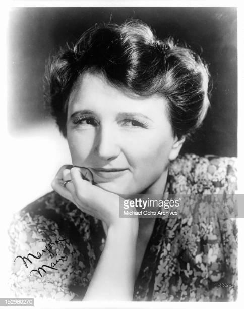 Marjorie Main circa 1935
