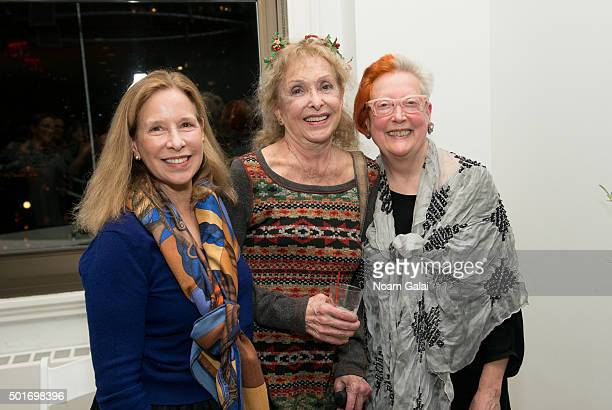 Marjorie Martay Carolee Schneemann and Martha Wilson attend 2015 WhiteBox Arts and Humanities Award honoring the Pussy Riot at ArtNet Headquarters on...