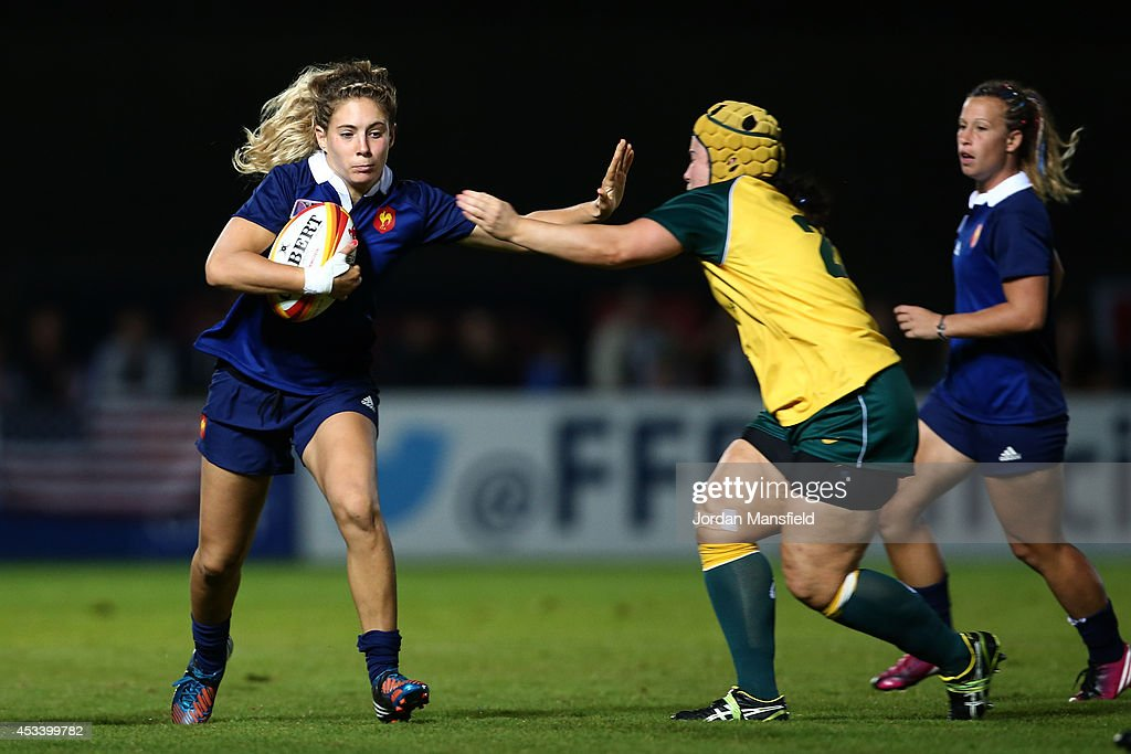 Australia v France - IRB Women's Rugby World Cup 2014