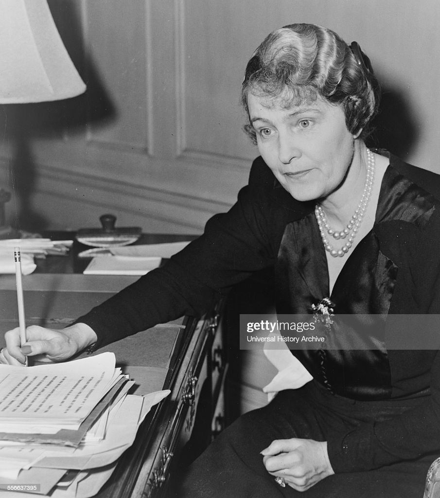 Marjorie Merriweather Garbacchio Post (1887 - 1973) Springfield, Illinois, was a leading American socialite and the founder of General Foods Inc. She was the daughter of C.W. Post and Ella Letitia Merriweather. : News Photo