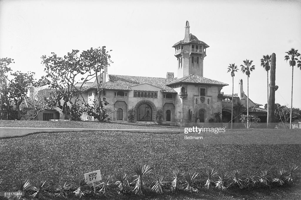 Exterior View of Mar-A-Lago : News Photo