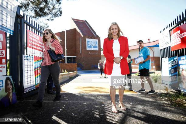 Marjorie O'Neill Labor's Candidate for Coogee poses at South Coogee Public School on March 23 2019 in Sydney Australia The 2019 New South Wales state...