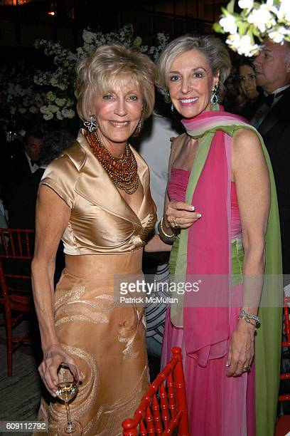 Marjorie Reed Gordon and Karen Burke Goulandris attend AN EVENING OF READINGS at LITERACY PARTNERS' Annual Gala Honoring Arnold Scaasi Liz Smith...